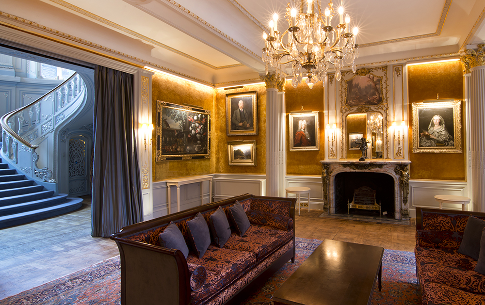 The Savile Club | Drawing room