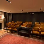 The Darwin Room as a screening room