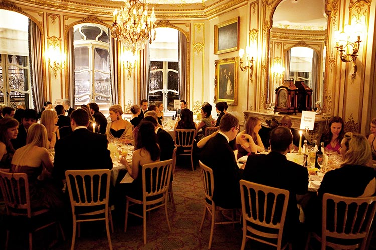 The Savile Club Dining Room